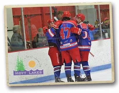 Hockey Celebration Hoyt Lakes Minnesota
