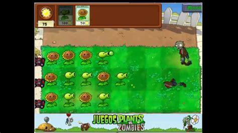 juegos plants  zombies jugar gratis youtube