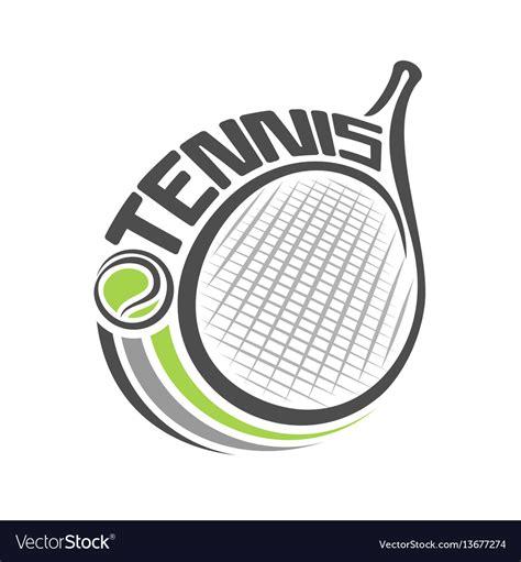 racket  lawn tennis royalty  vector image