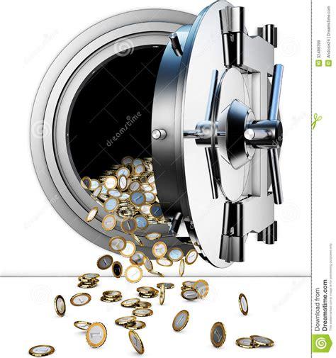chambre de compensation banque chambre forte de banque images libres de droits image