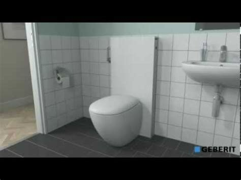 how to install a geberit monolith wall hung wc toilet frame diy installation how to save