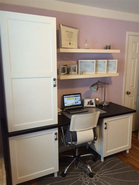 bureau console ikea stuva desk with besta doors ikea hackers ikea hackers