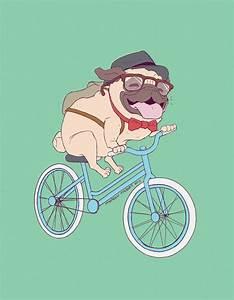 Hipster Pug Print S Pug, Fondos y Fondos de pantalla