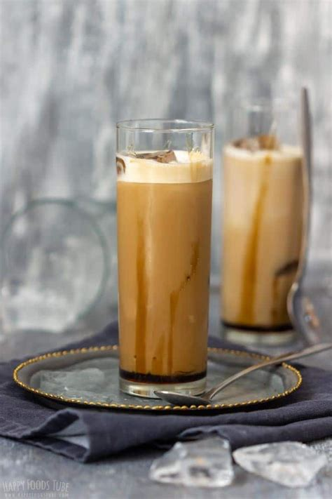 Creamy and refreshing homemade version of starbucks iced matcha latte made in the blender in under 1 minute. Step by Step How to Make Iced Caramel Latte 3 in 2020   Caramel latte, Homemade iced coffee ...