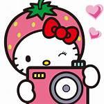 Camera Icon Pink Clip Clipart Hello Kitty