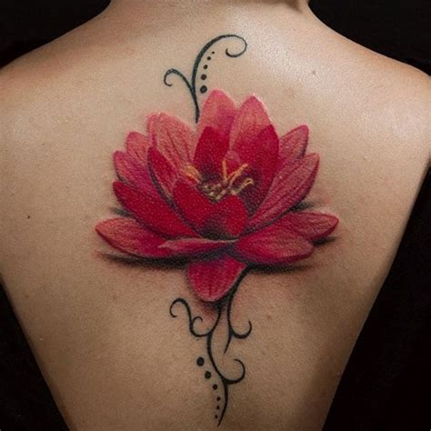 Trendy Lotus Flower Tattoos That You Don Want Miss