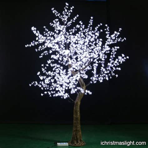 artificial white lighted trees for weddings ichristmaslight