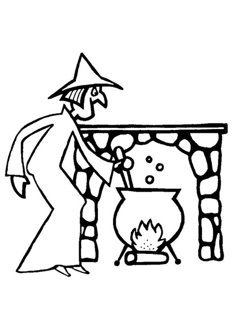 cuisiner cerf coloriage sorciere cuisine sur hugolescargot com