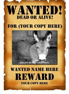 wanted poster template fbi   west  crasy