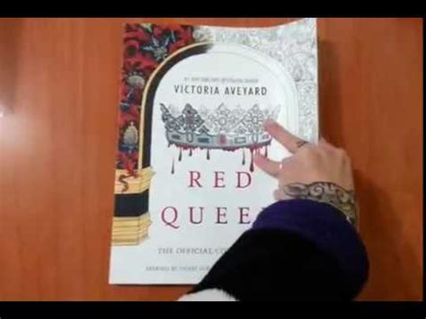 red queen  official coloring book youtube