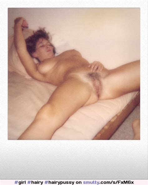 Hairy Hairypussy Trimmedpussy Pussy Vintage Polaroid