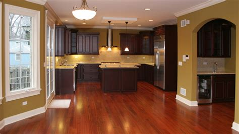 wood kitchens cherry color traditional kitchen