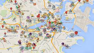 Pokemon Go Map Find All Pokestop Gym and Pokemon Locations by cindyhio