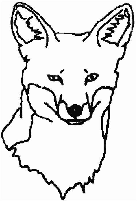 dessin renard facile coloriage t 234 te de renard dessin gratuit 224 imprimer