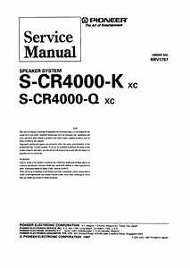 Pioneer Scr4000q Xc