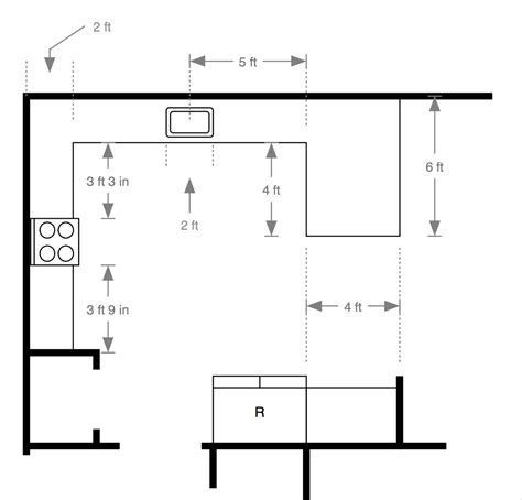 kitchen top dimensions kitchen xcyyxh