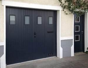 toute la gamme de porte de garage aluminium de sothoferm With porte garage francaise