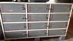 Acheter Meuble En Palette Bois : meuble fabriqu en bois de palette youtube ~ Premium-room.com Idées de Décoration