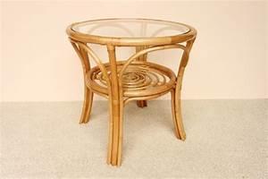 Runder Tisch 60 Cm : tische rattantisch rund mit glasplatte ~ Bigdaddyawards.com Haus und Dekorationen