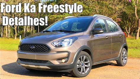 ford ka  freestyle automatico falando de carro youtube