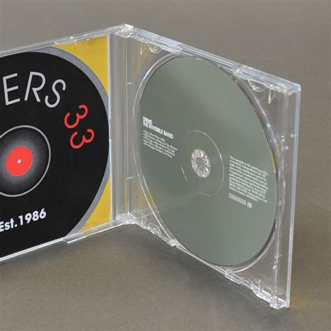 cd tray clear pack