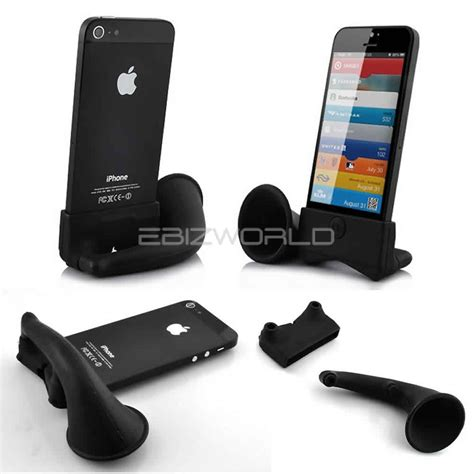 iphone desk holder sound speaker lifier desk stand for iphone se 5s 5