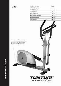 Manual Usuario Bicicleta Eliptica Tunturi C30 By