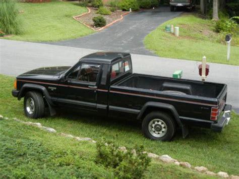 1986 jeep comanche 4x4 purchase used 1986 jeep comanche x black 4wd 4x4 long bed