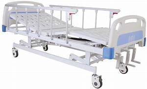 China Three Cranks Manual Hospital Bed  Sk-mb102