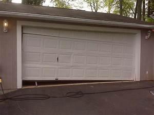 Broken Garage Door 2 A Plus Garage Doors