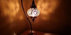 Lampe De Chevet Dorée : lampe de chevet orientale en cuivre laiton verre pas cher ~ Teatrodelosmanantiales.com Idées de Décoration