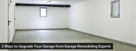 ways  upgrade  garage  garage remodeling