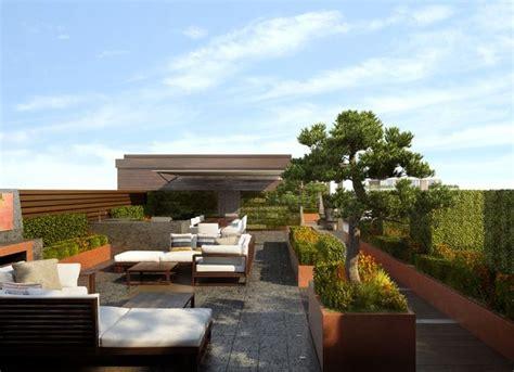 Mit Dachterrasse by Moderne Dachterrasse Mit 252 Ppiger Aber Strukturierter