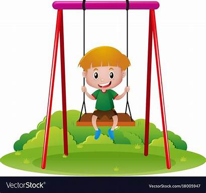 Clipart Kid Swinging Swing Clipground