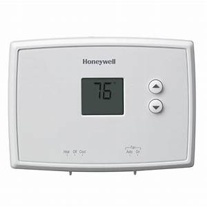 Honeywell Digital Non-programmable Thermostat-rth111b