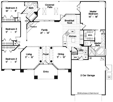 open floor house plans one one open floor plans with 4 bedrooms one