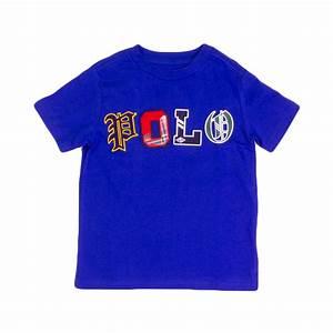 Ralph Royal Blue Typography T Shirt The Rainy Days