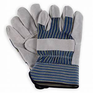Wells Lamont Shoulder Split Leather Palm Work Gloves - Y3106