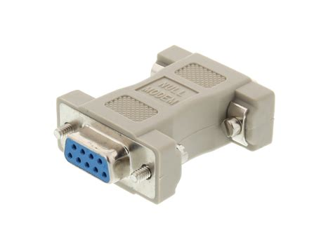 Networx - Null Modem Adapter for Serial Cables - DB9 ...