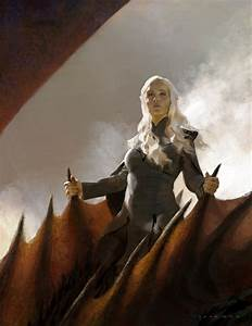 Wallpaper : Daenerys Targaryen, Game of Thrones, fan art ...