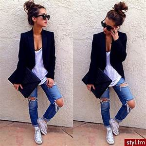 Outfit con jeans casual juvenil - Buscar con Google - image #4236486 by loren@ on Favim.com