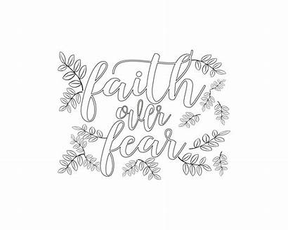 Faith Coloring Fear Covid Journey