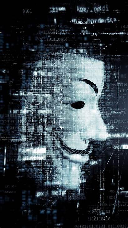 Hacker Mask Anonymous Wallpapers Iphone Gambar Phone