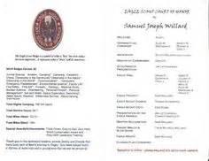 eagle scout ceremony program template lds eagle court of honor programs scalenewsvz