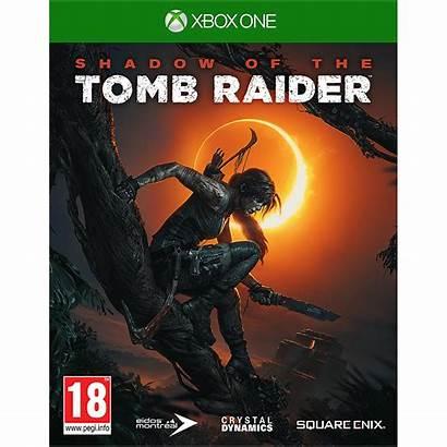 Tomb Raider Xbox Shadow
