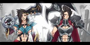 Draven and Darius by Exaxuxer on DeviantArt