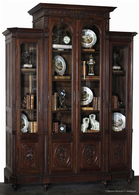 How To Decorate An Antique Bookcase  Antiques In Style