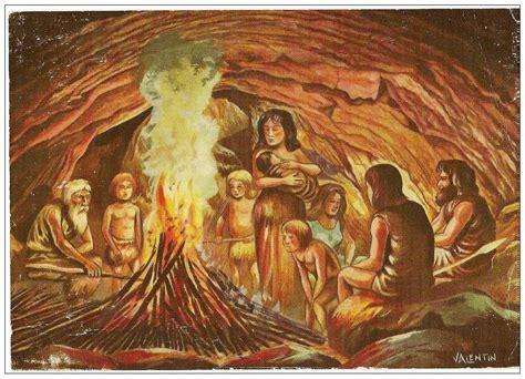 l histoire de la cuisine héraldie l 39 histoire par l 39 image la préhistoire
