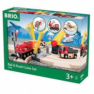 Brio Eisenbahn Schienen : brio stra en und schienen kran set 33208 pirum ~ Orissabook.com Haus und Dekorationen