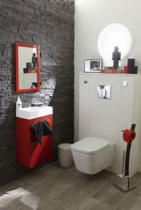 le carrelage wc se met a la couleur pour faire la deco With carrelage adhesif salle de bain avec led light bulbs